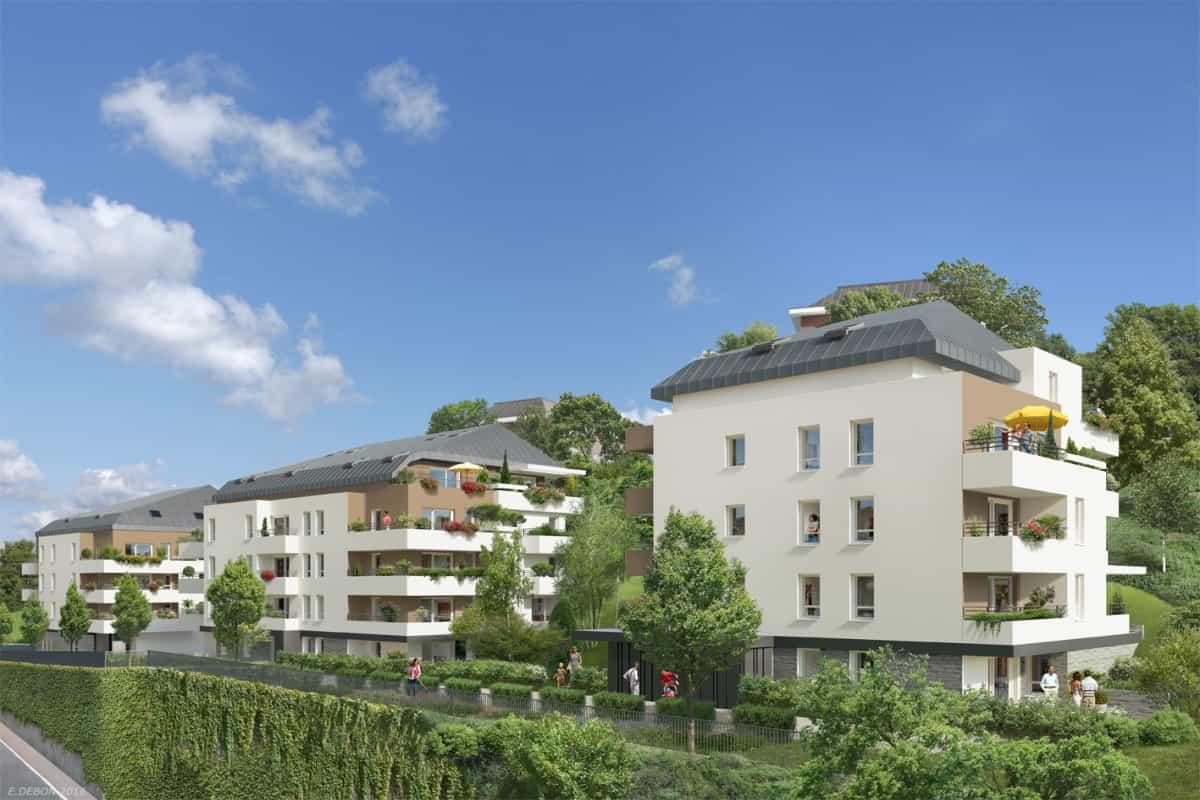 Vente Appartement, Nouveaux Programmes, Loi Pinel, Rh Ne ... avec Les Jardins Du Château Annecy