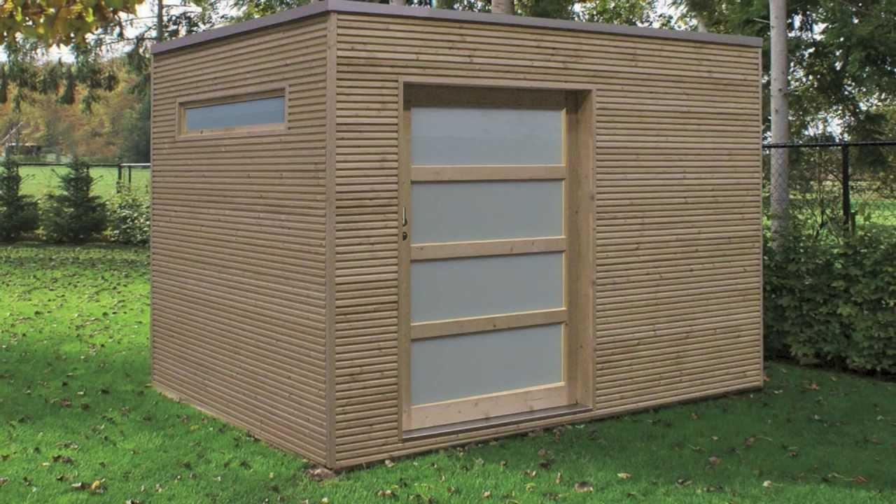Veranclassic, Fabricant D'abris De Jardin Modernes tout Plan Cabane De Jardin