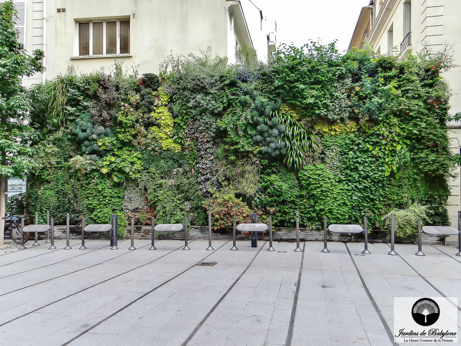Vertical Garden: Light On This Discipline 100% French! avec Geotextile Jardin