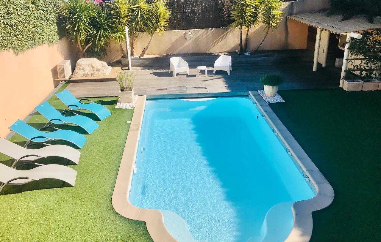 Villa Madysan (Fransa Saint-Aygulf) - Booking tout Salon De Jardin Geant Casino