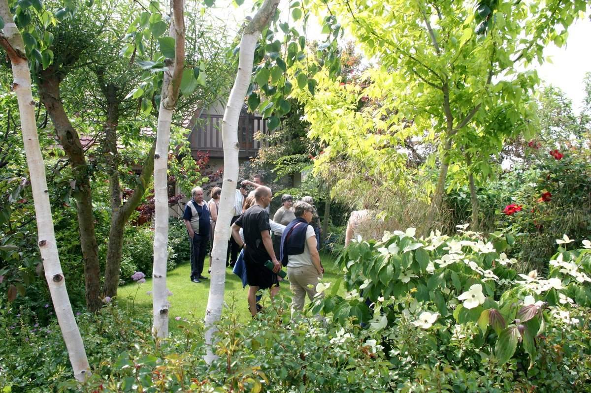 """Visite Du Jardin """"a Fleur D'écorces"""" - Le Blog De Pjh à Ecorces Jardin"""