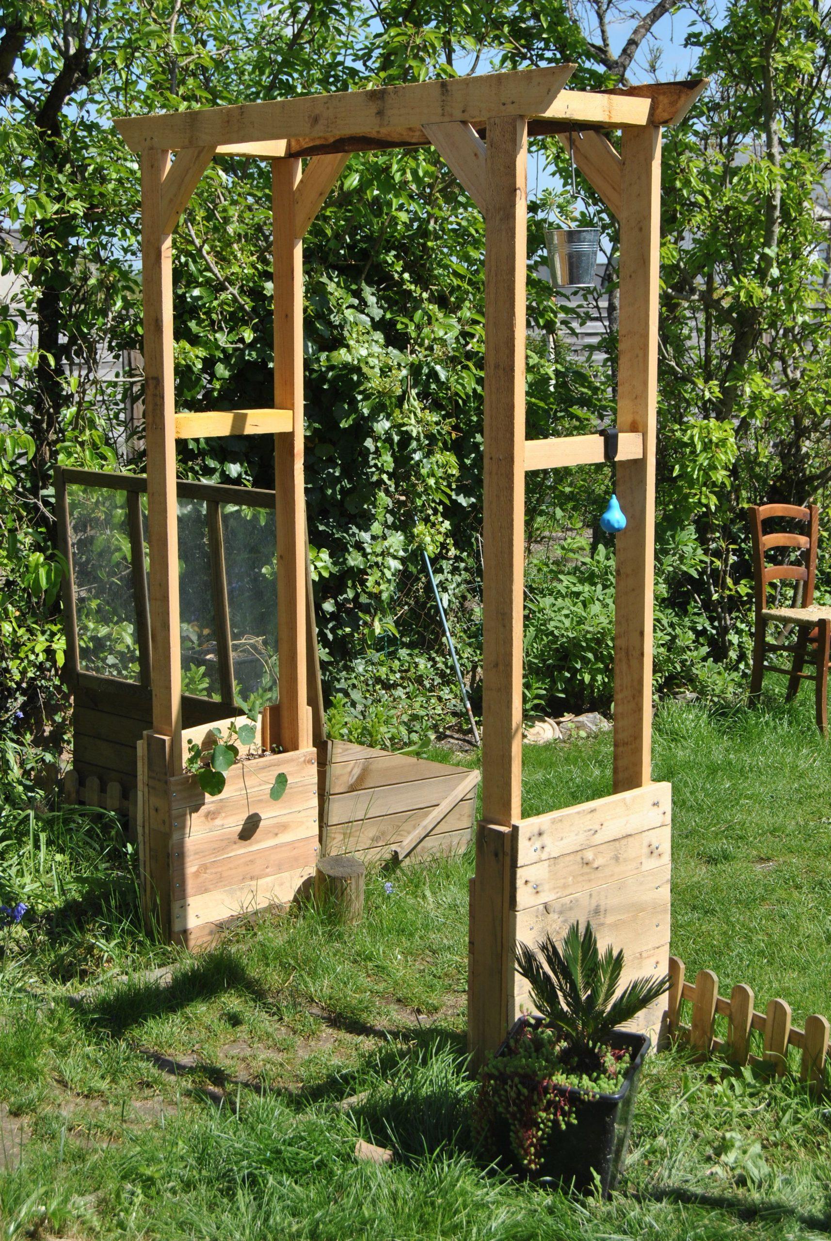 Votre Magazine Pour Le Bricolage Et Le Jardinage | Arche ... tout Arceau Jardin