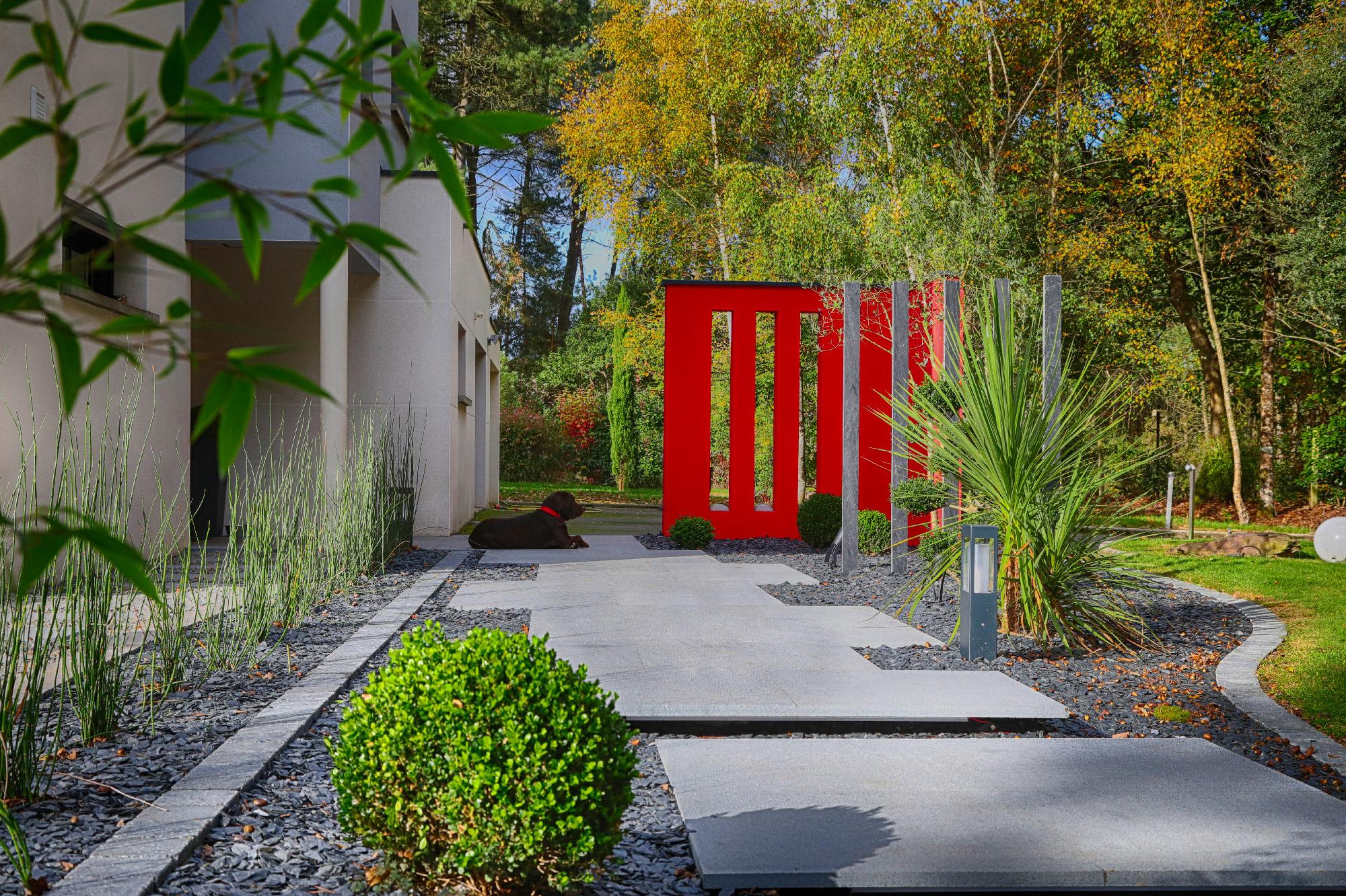Votre Paysagiste Conçoit, Réalise Et Entretient Votre Jardin ... destiné Exemple D Aménagement De Jardin