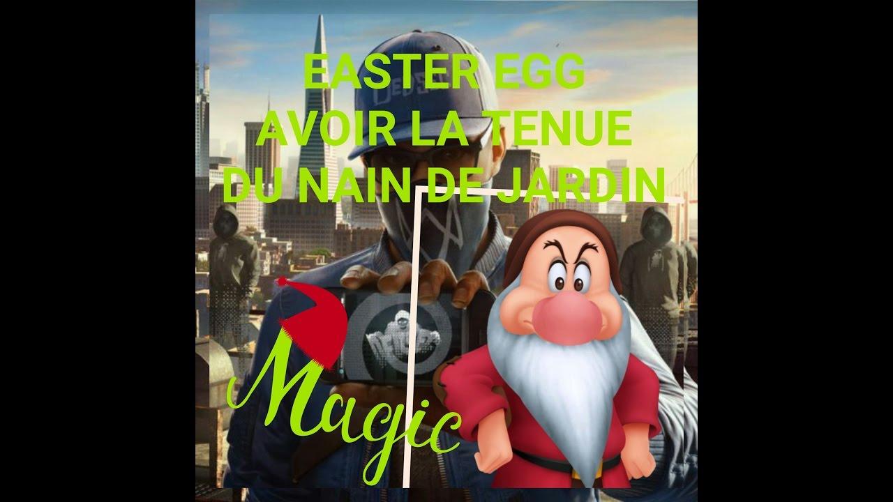 Watchdogs 2/ Easter Egg/secret/ Costume Nain De Jardin [Master's Garden] intérieur Nain De Jardin Design