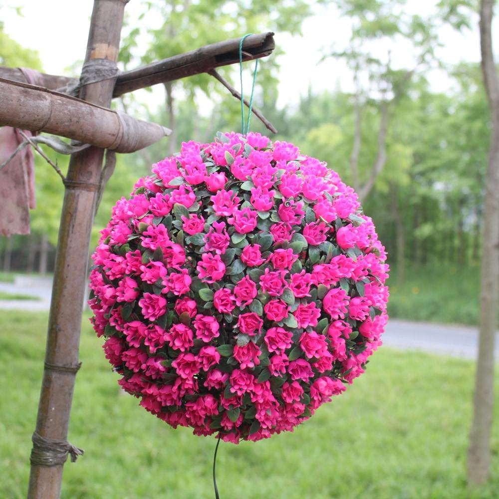 Xyhp201804270038 Boule De Fleur Solaire S'allume Lumières Décoratives  Jardin Jardin Hangin tout Boule Décorative Jardin