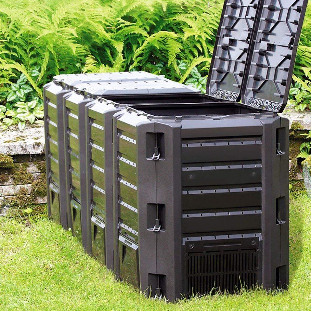 Yimby Composteur Tournant Jardin Composts Et Déchets De ... avec Composteur De Jardin