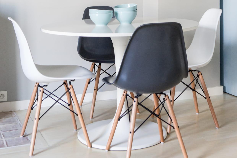 1 Chaise Eames, 10 Possibilités à Chaise Eames Pas Cher