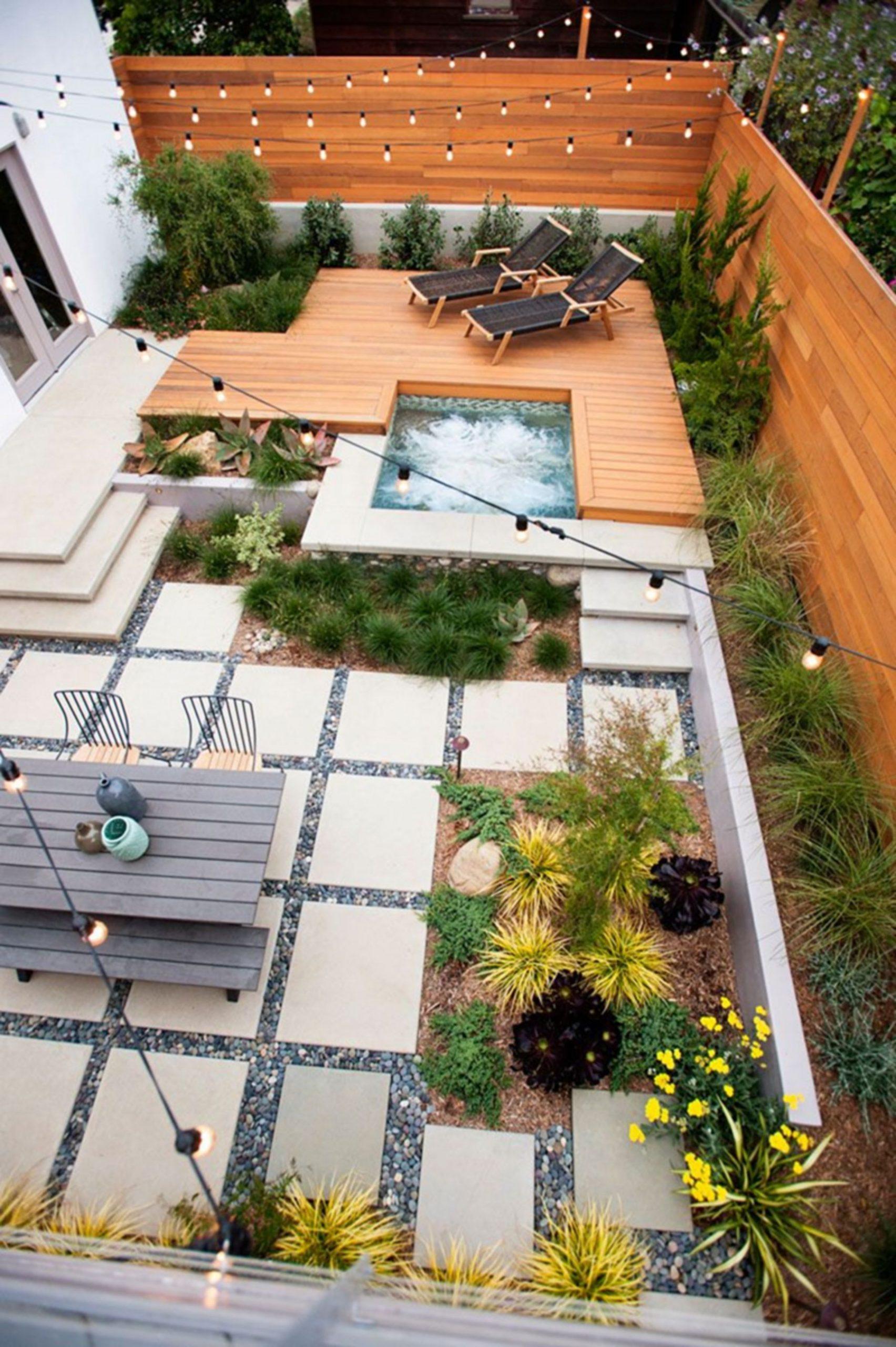 10+ Fantastic Urban Gardening Ideas For Your Backyard ... concernant Parterre Jardin Moderne