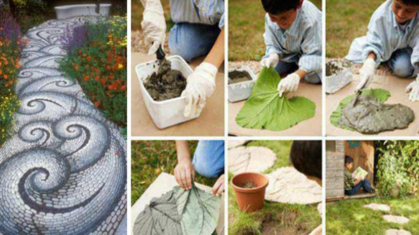 12 Idées Pour Aménager Vos Allées De Jardin ! | Diy Seloger avec Idée Déco Jardin Extérieur Pas Cher