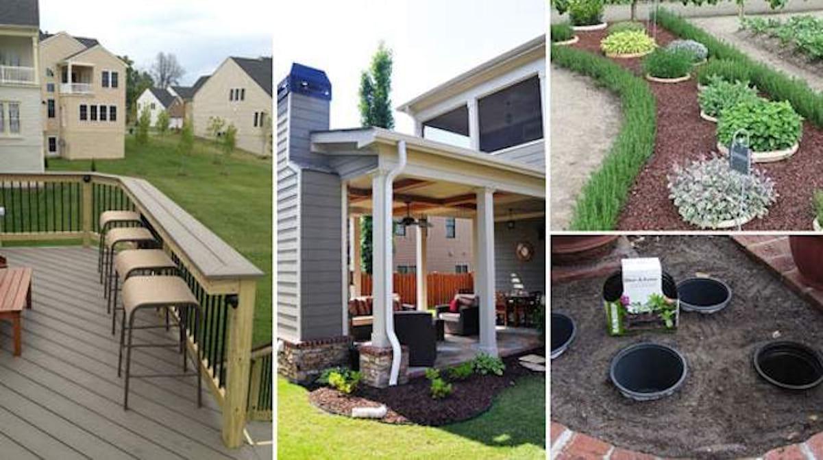 28 Superbes Idées Pour Embellir Votre Terrasse. pour Amenagement Exterieur Pas Cher