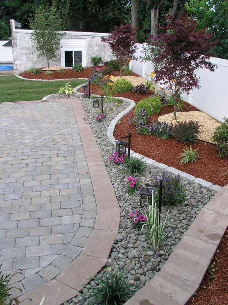 30+ Incredible Low-Water Landscaping Ideas For Your Garden ... dedans Ide Rocaille Devant Maison