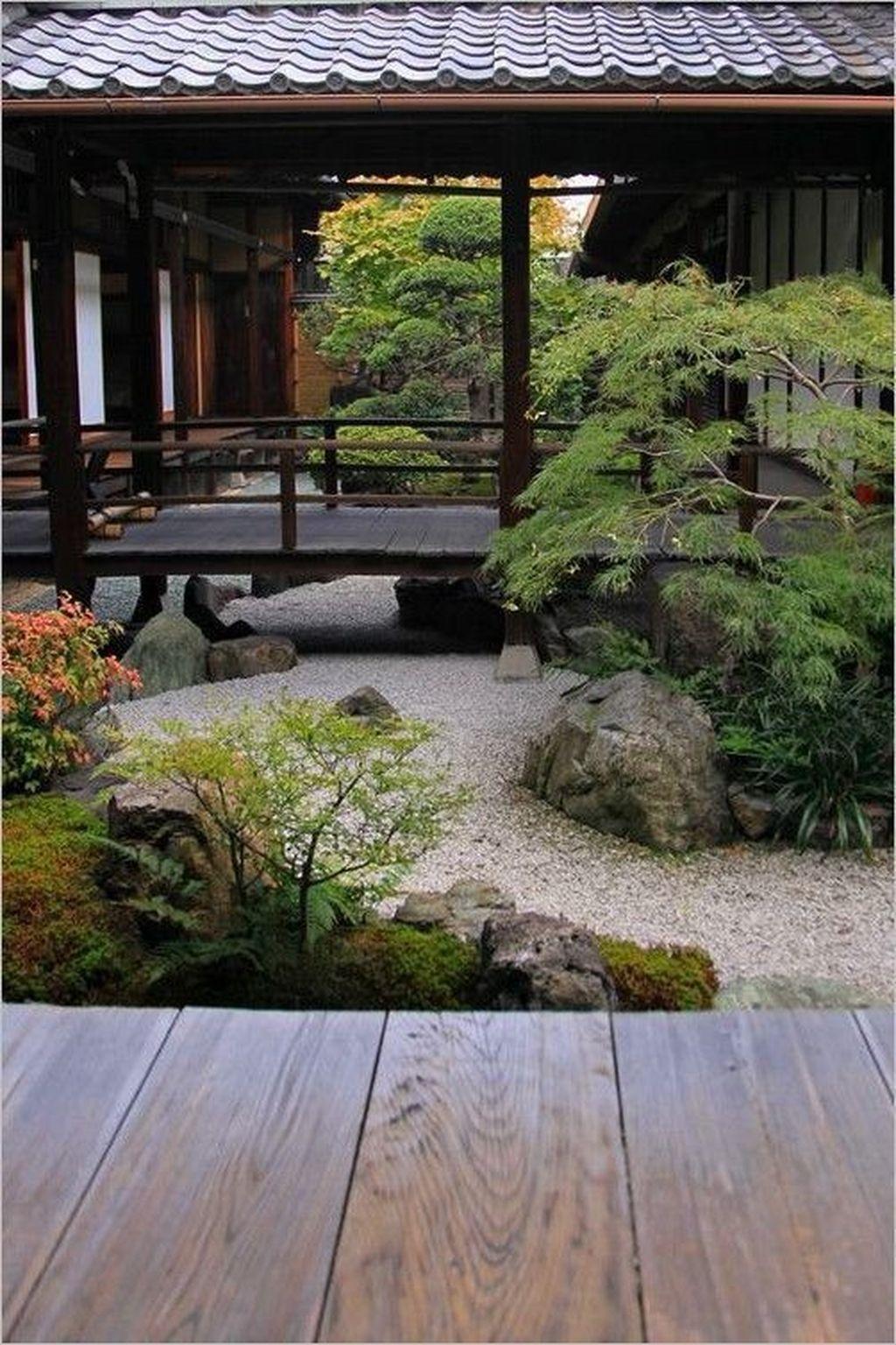 36 Vintage Zen Gardens Design Decor Ideas For Backyard ... avec Idee Jardin Zen
