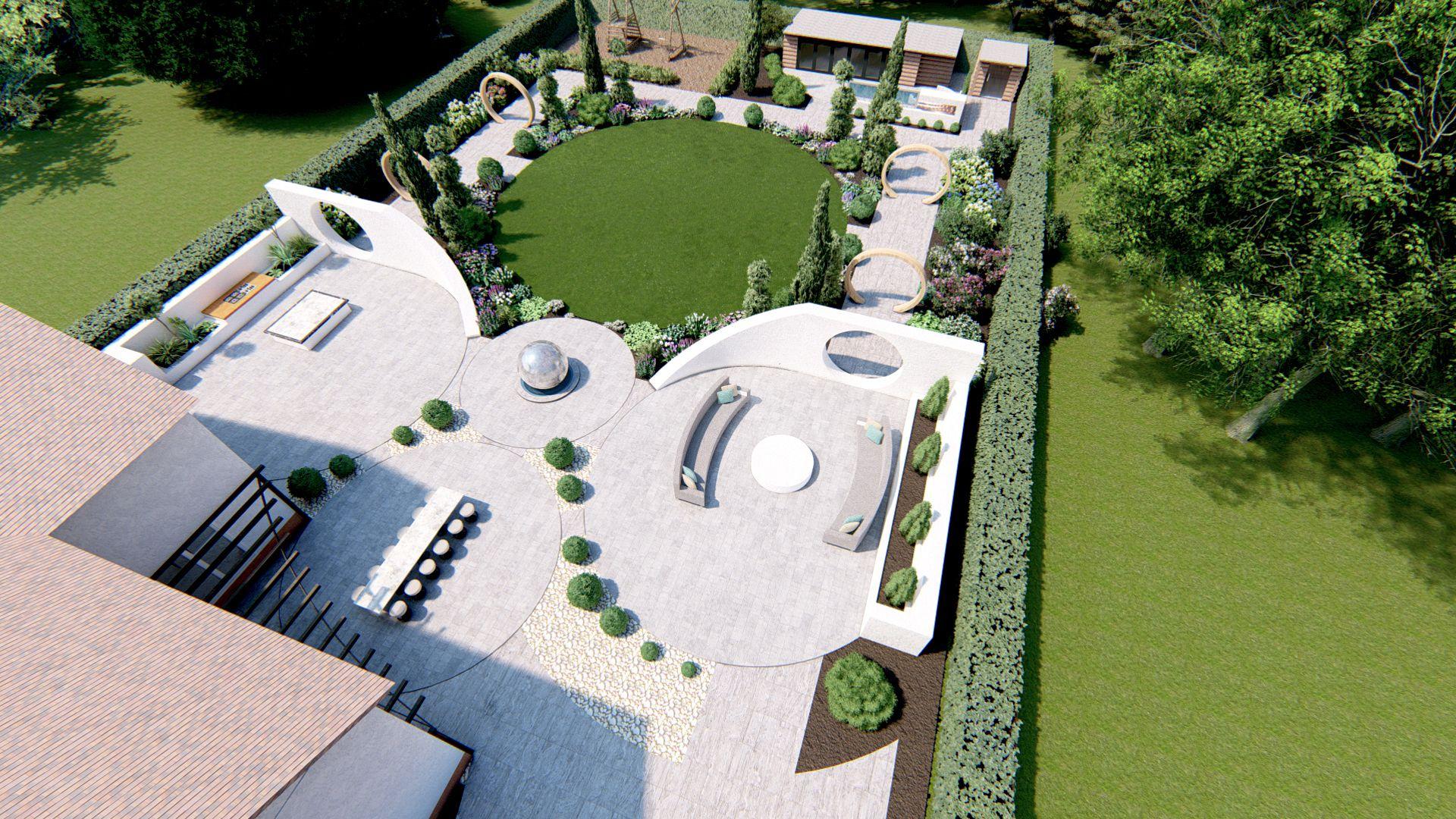 3D Plans Help You To Visualise Your New #garden #garden ... concernant Plan De Jardin 3D