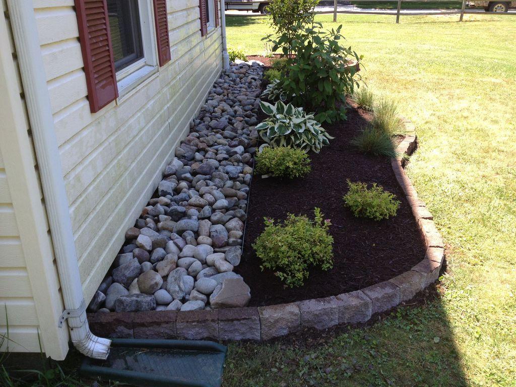 46 Marvelous Rock Stone For Your Frontyard   Aménagement ... à Ide Rocaille Devant Maison