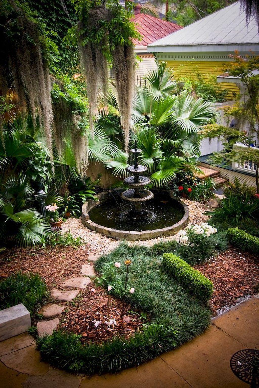 50+ Creative Diy Inspirations Water Fountains In Backyard ... à Jardin Zen Avec Fontaine