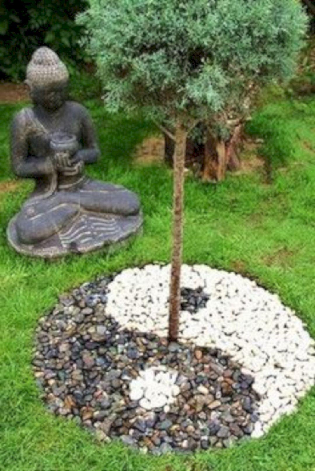 76 Beautiful Zen Garden Ideas For Backyard 380 (With Images ... dedans Idee Jardin Zen