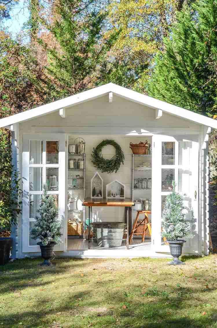 Abri De Jardin -23 Idées Pour Mieux Utiliser Votre Cabane concernant Abris De Jardin Original