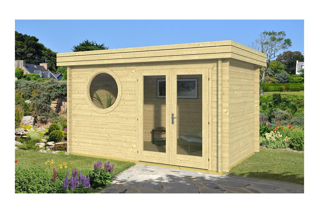 Abri De Jardin Bonifacio 44Mm - 8.21M² Intérieur tout Abris De Jardin Original