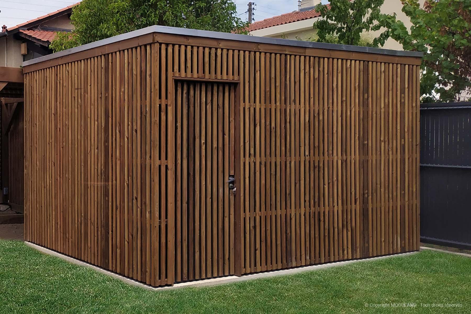 Abri De Jardin Moderne Aubigny | Moduland à Abri De Jardin Thonon