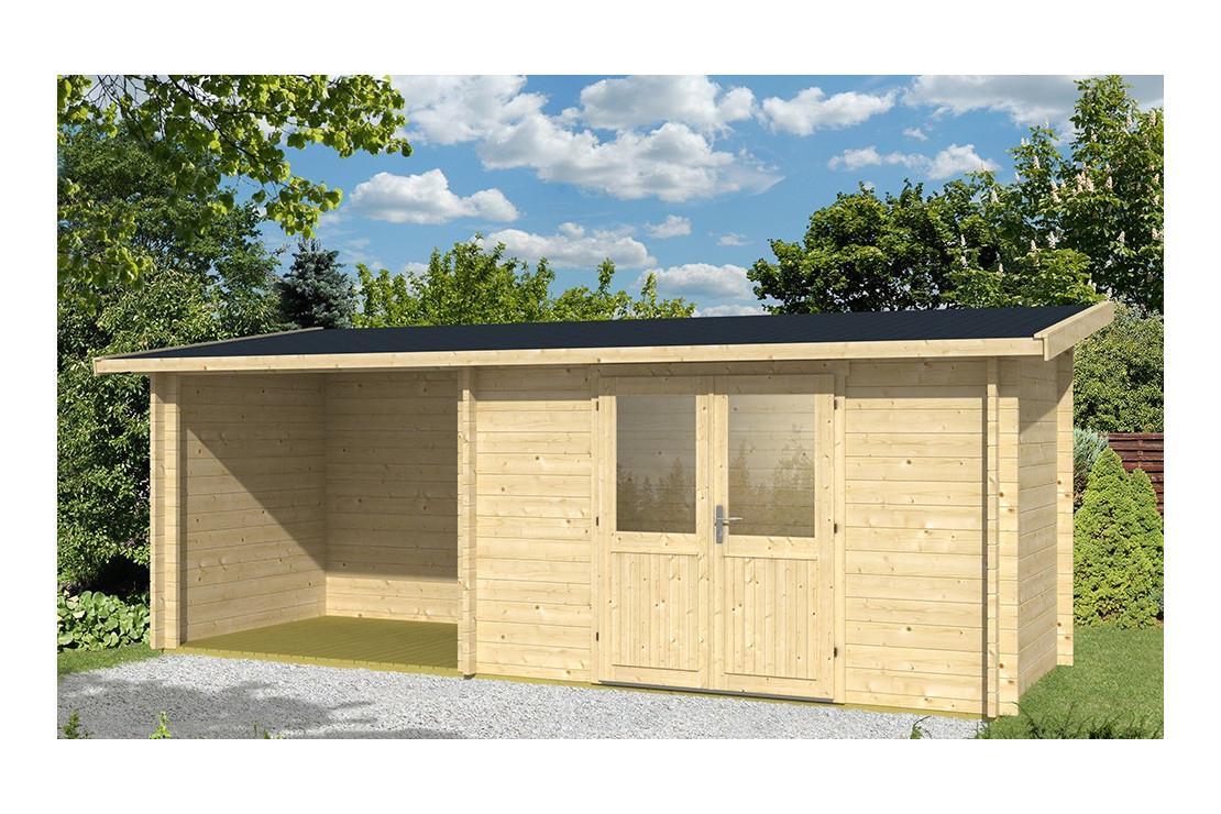Abri De Jardin Tarbes 44Mm - 6,3M² Intérieur + 4,9M² tout Abris De Jardin À Donner