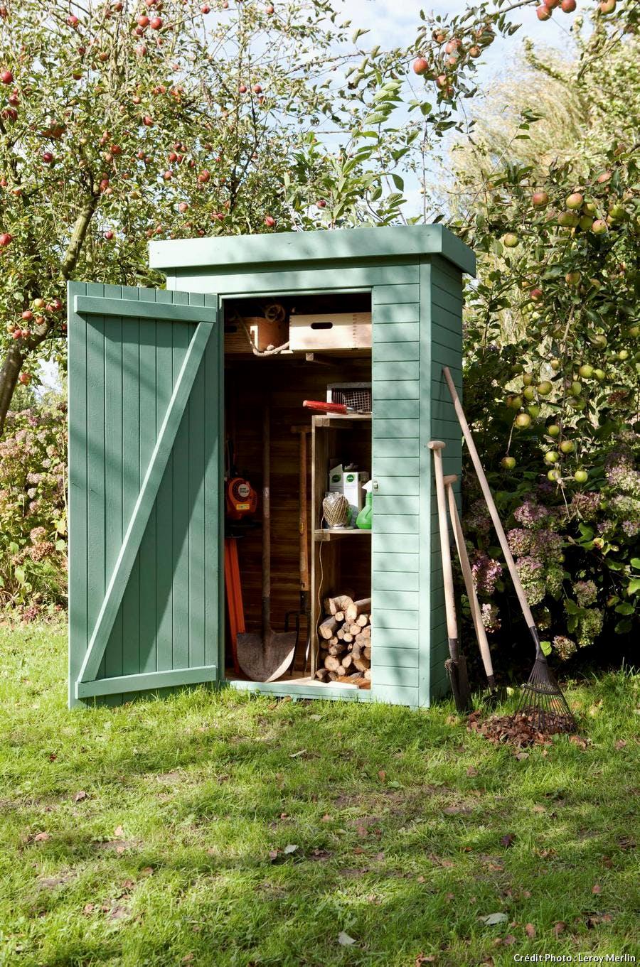 Abri Pour Outils De Jardin Pas Cher Idées Pelle Jardin Métal ... intérieur Ides Abri Moto