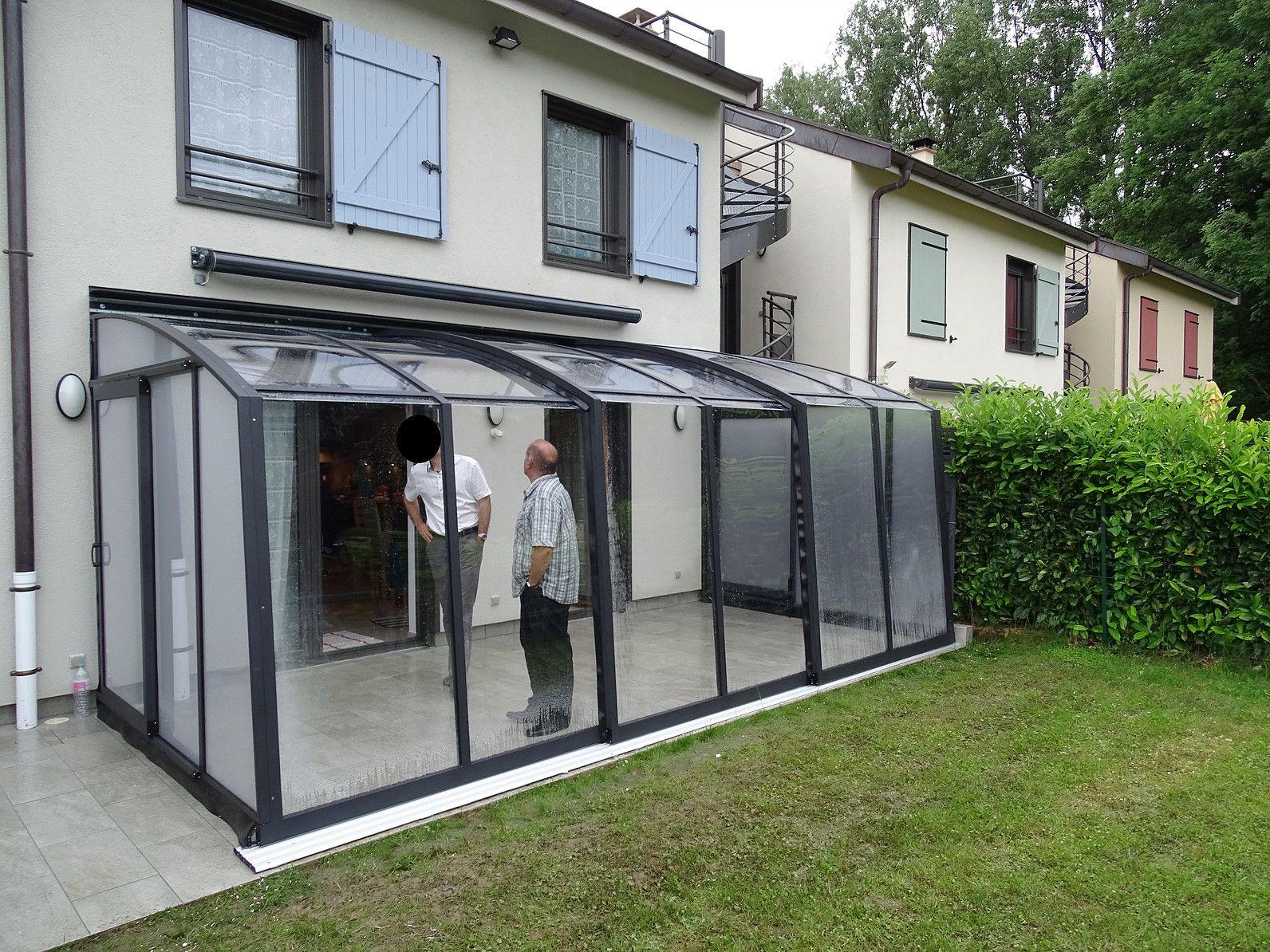 Abris Terrasse Aluminium Coulissant | Abri Terrasse ... destiné Abri De Terrasse Coulissant
