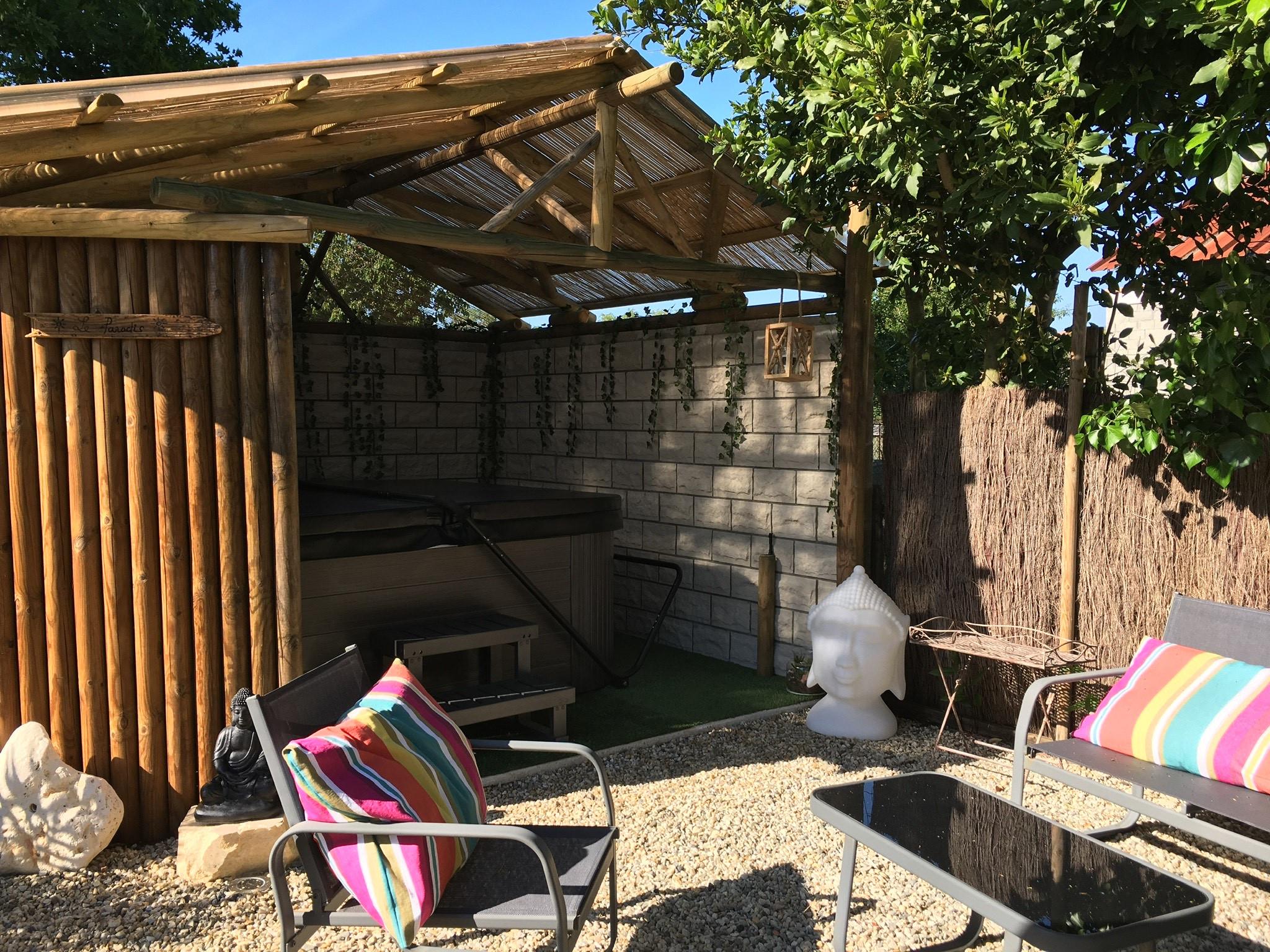 Aménagement Autour D'un Spa Extérieur - Spa Alina destiné Aménager Un Coin Spa Dans Le Jardin