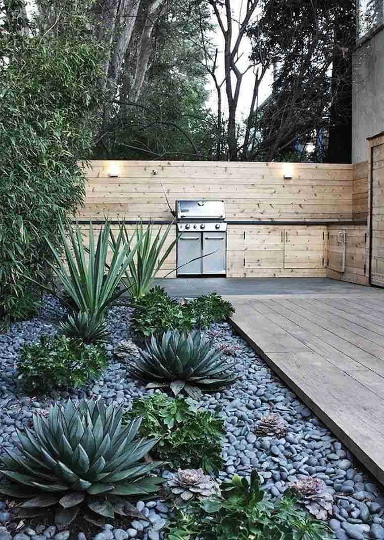 Aménagement Extérieur Maison : Jardins D'entrée Modernes concernant Idee Amenagement Jardin Devant Maison