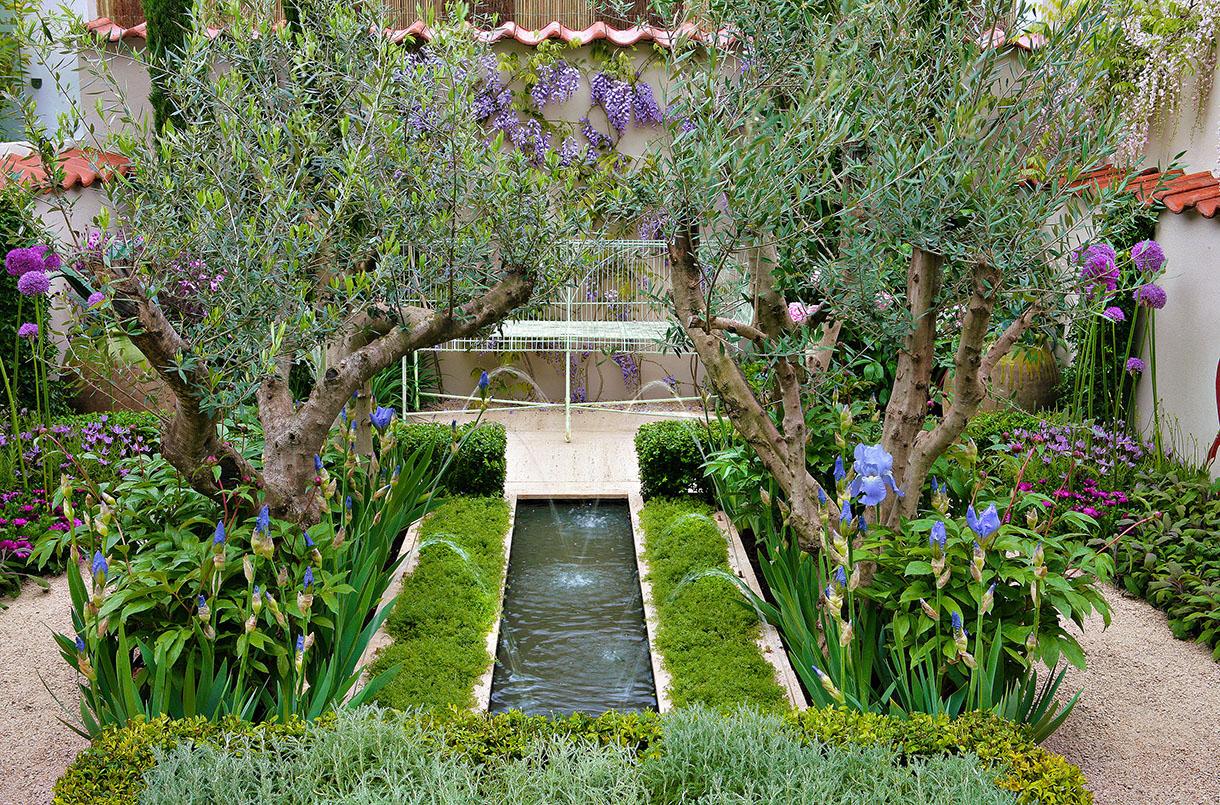 Amenagement Petit Jardin, Aménager Un Petit Jardin | Détente ... destiné Aménager Un Petit Jardin De 20M2