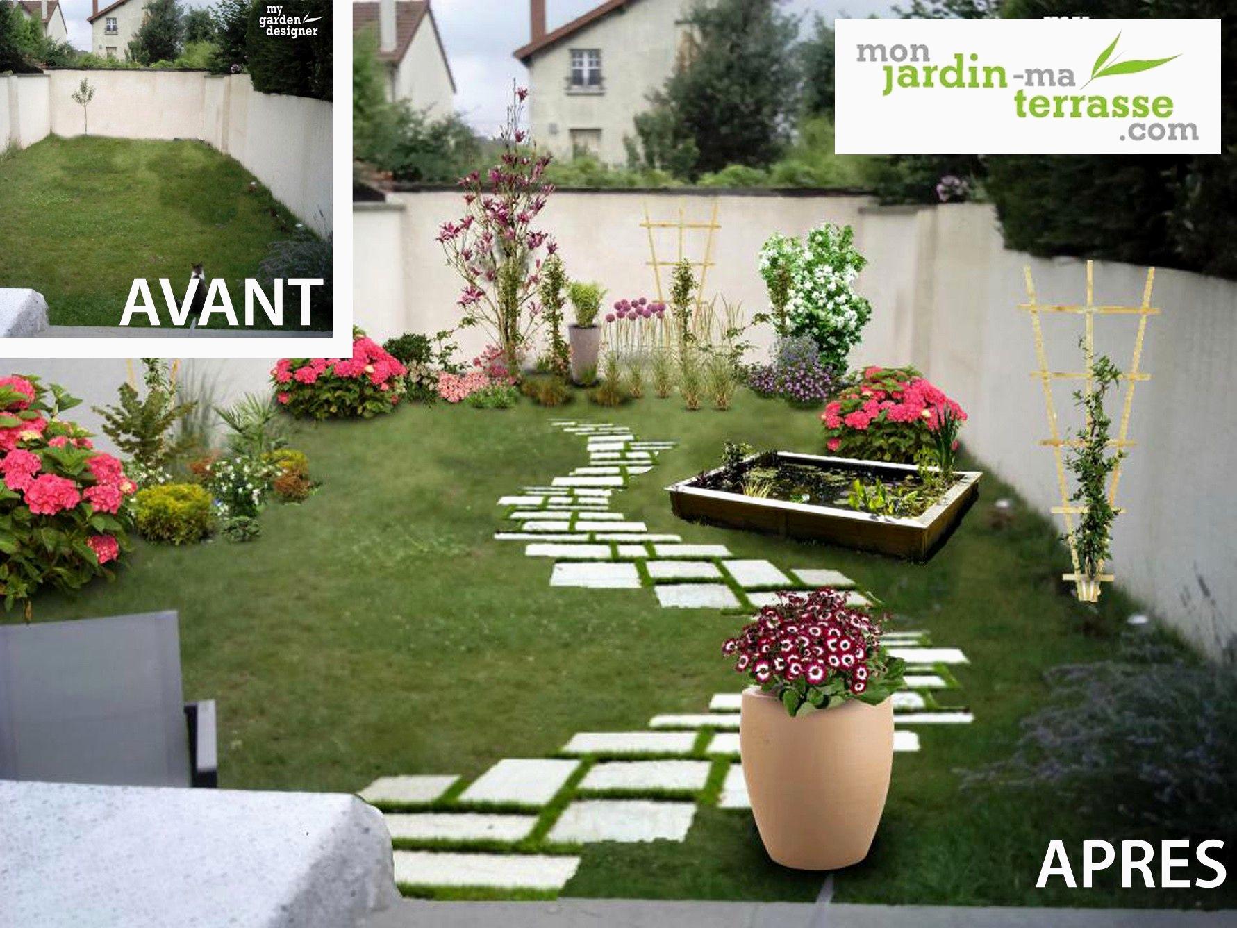 Amenager Un Petit Jardin De 50M2 Étonnant Amenager Un Petit ... encequiconcerne Aménager Un Petit Jardin De 20M2
