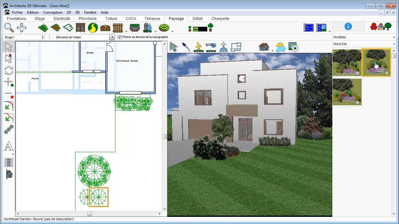 Architecte 3D - Aménager Votre Jardin à Logiciel Maison Jardin Et Terrasse 3D Gratuit