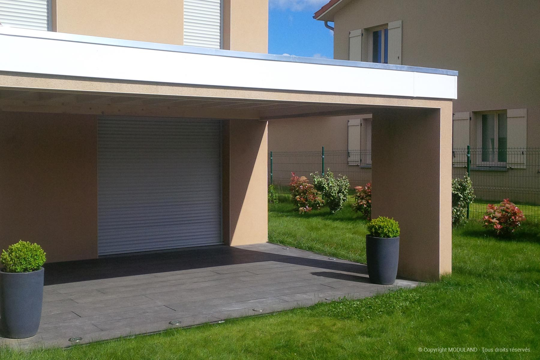 Auvent Terrasse Thonon | Moduland concernant Abri De Jardin Thonon