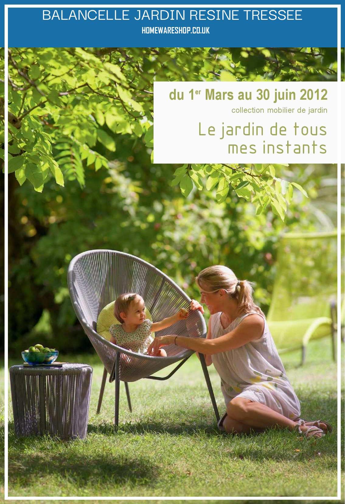 Balancelle Jardin Leclerc – Homewareshop dedans Balancelle De Jardin Leclerc