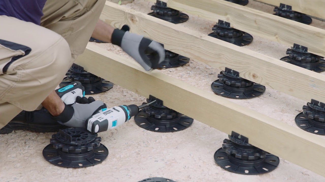 Boite De 10 Plots Pour Lambourdes - Brico Dépôt tout Plot Reglable Terrasse Brico Depot