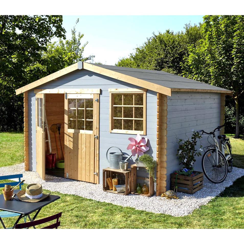 Cabane Jardin Bois D'occasion | Plus Que 4 À -60% serapportantà Abri De Jardin Occasion