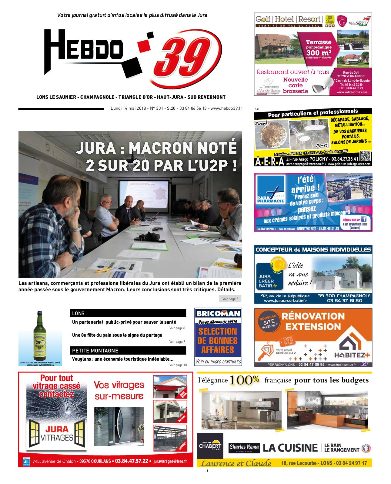 Calaméo - Hebdo Lons Semaine 20 2018 pour Bordure P1 Bricoman