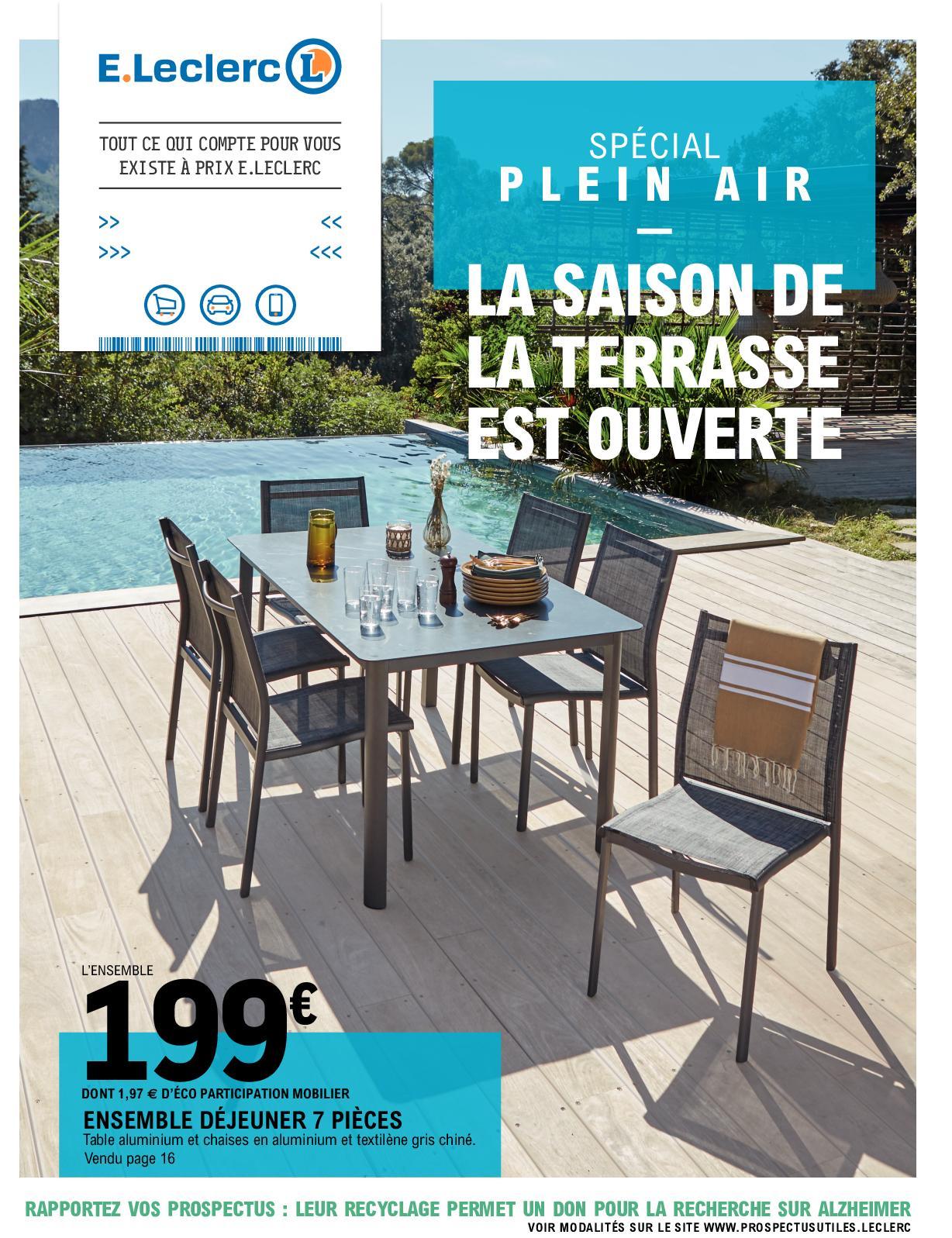 Calaméo - Plein Air 2020 _ Ic Et Saint Brevin (44) pour Mobilier De Jardin Leclerc