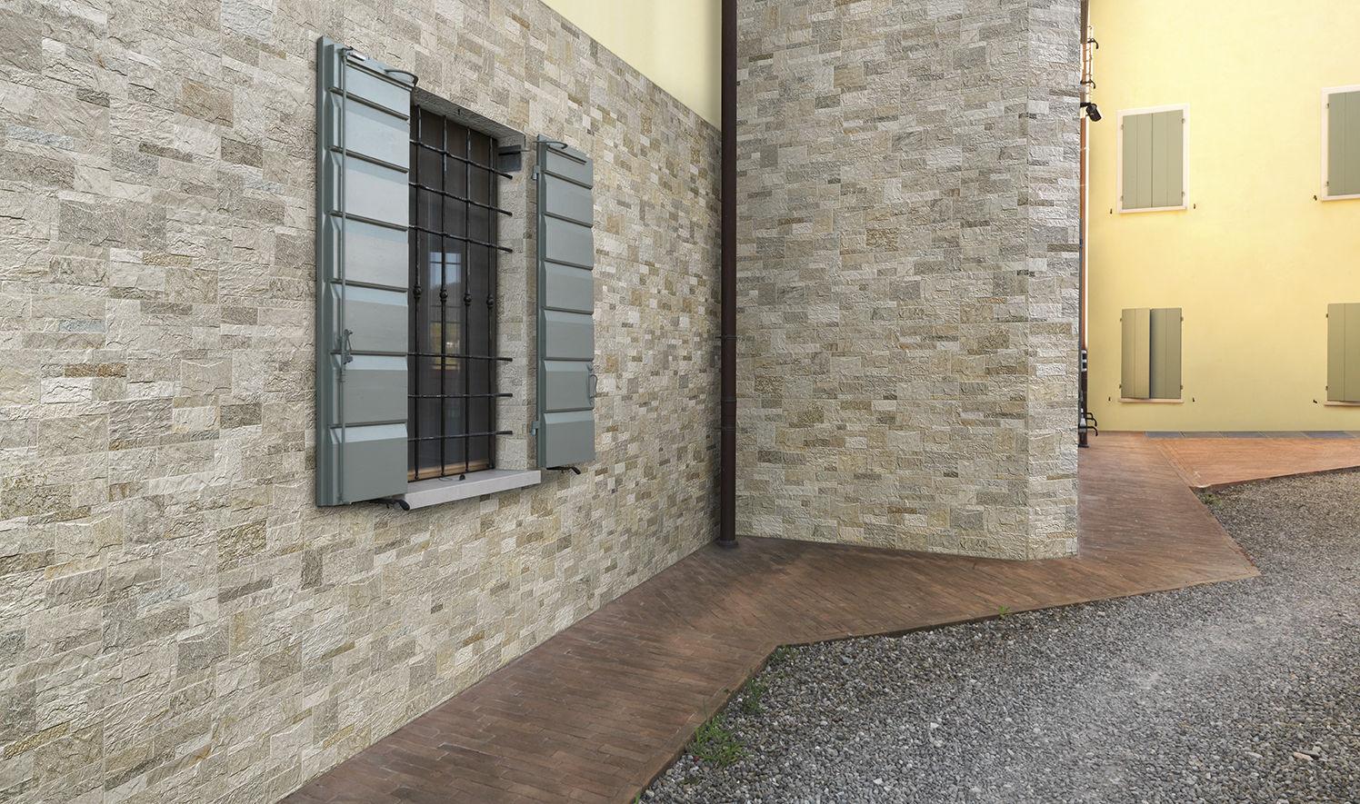 Carrelage D'extérieur - Rockstyle : R-Silver - Fiordo - D ... tout Carrelage Pour Mur Extérieur