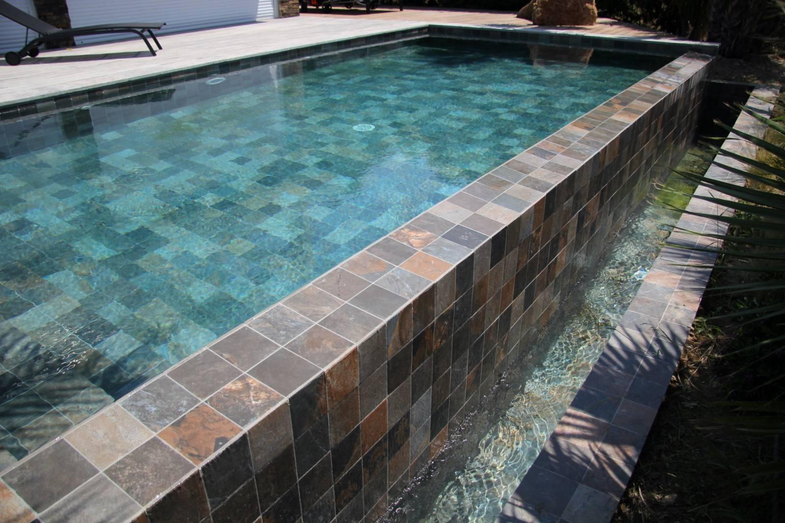 Carrelage Green Bali® 30X60 , Pour Un Bassin Avant Gardiste ... serapportantà Carrelage Piscine Bali 30X60