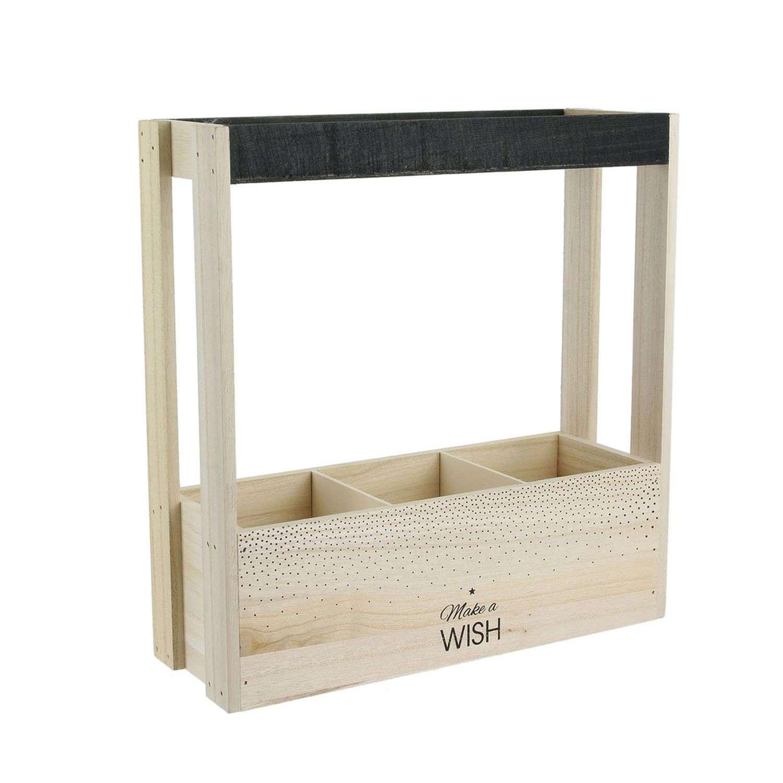 Casier À Bouteilles En Bois Wish Table Chic - Beige intérieur Fauteuil Suspendu Wish