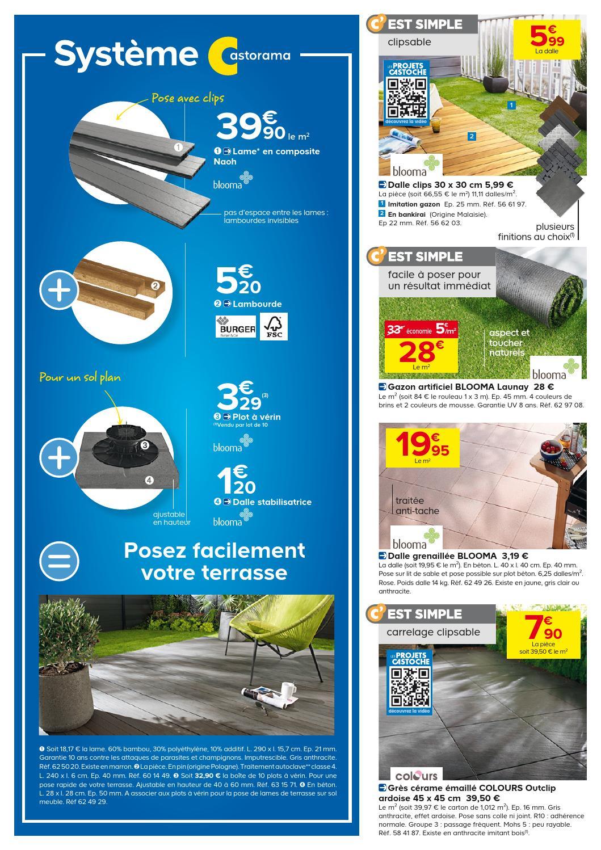 Castorama Catalogue 29Mai-24Juin 20132 By Promocatalogues ... tout Dalle Stabilisatrice Pour Plot À Vérin Blooma