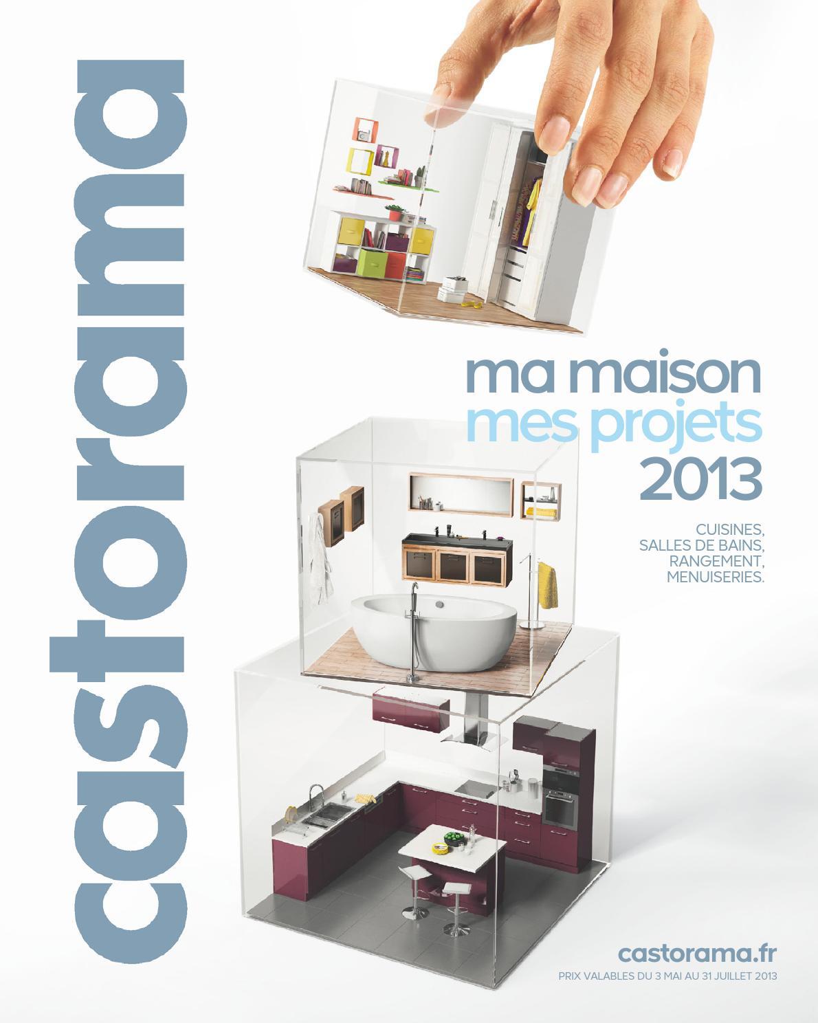 Catalogue Castorama Maison By Margot Ziegler - Issuu destiné Bille Polystyrène Isolation Castorama