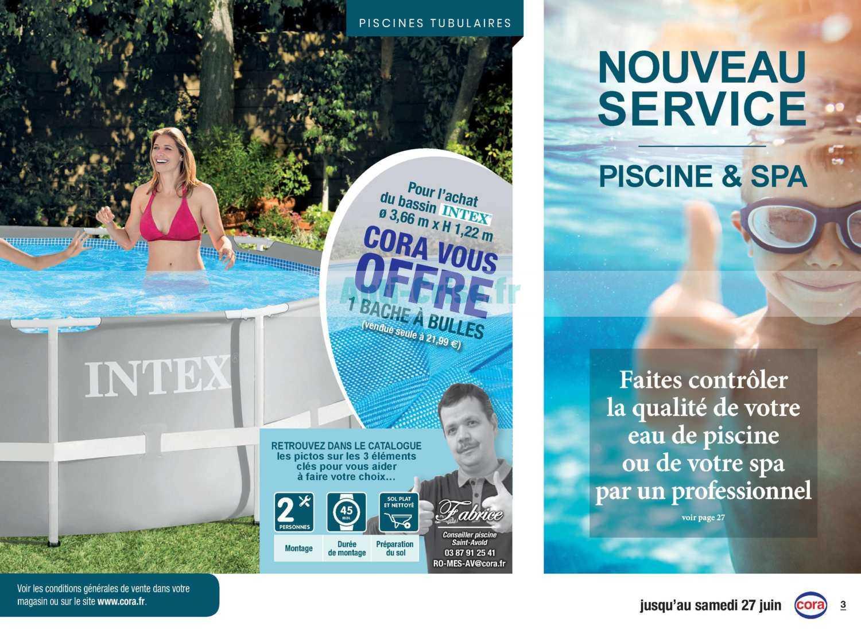 Catalogue Cora Du 07 Avril Au 27 Juin 2020 (Piscine & Spa ... dedans Cora Piscine Bois