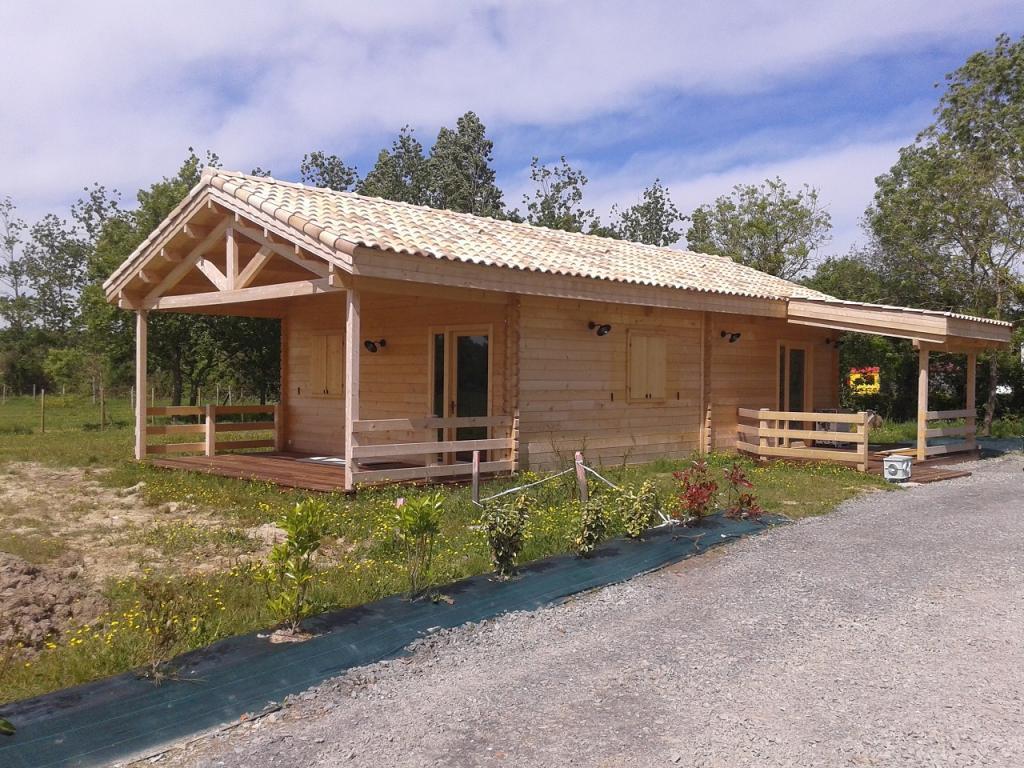 Chalet Habitable De 80M² En Bois En Kit concernant Cabane Habitable En Kit