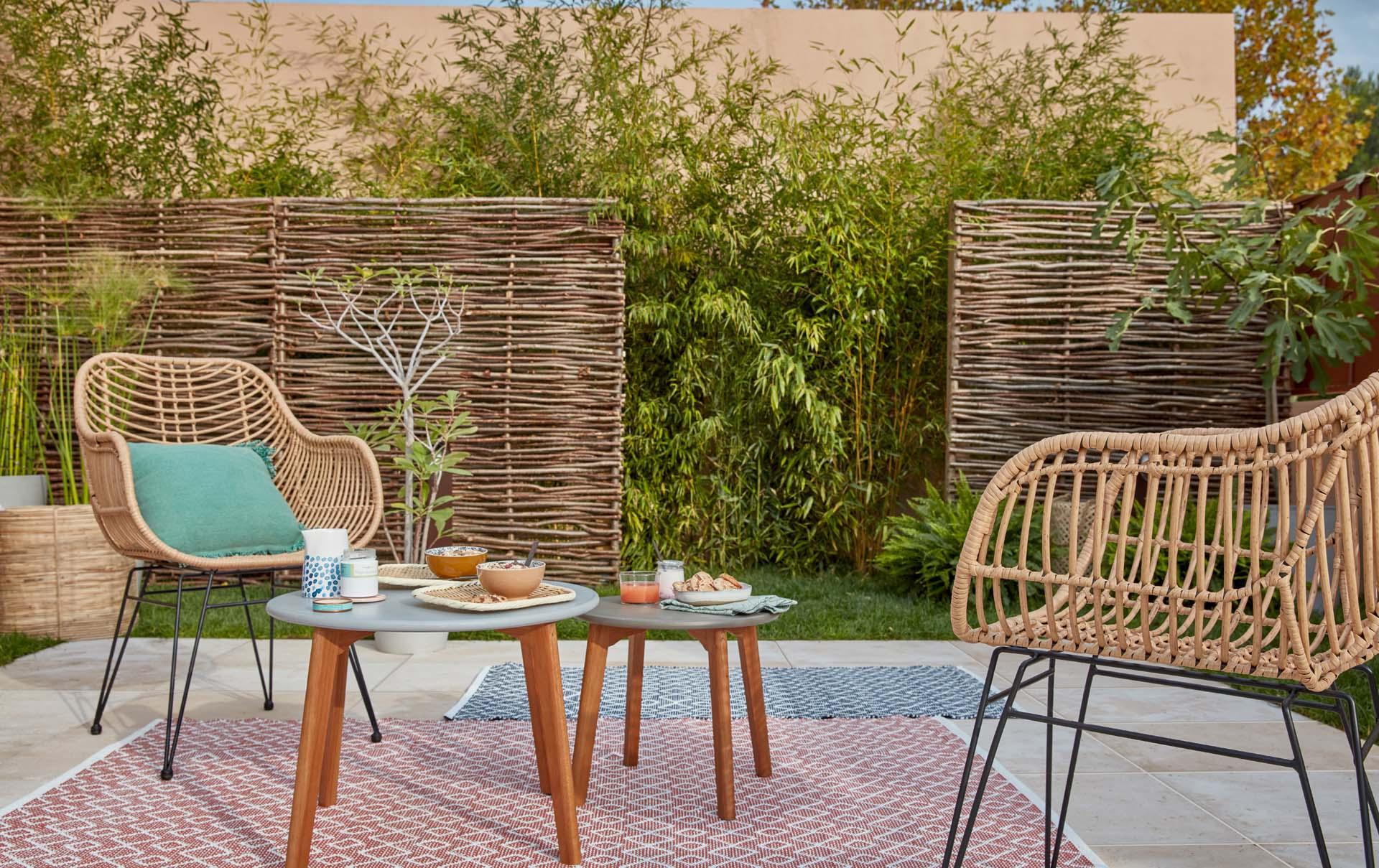 Choisir Et Installer Une Clôture Jardin Bois intérieur Leroy Merlin Paravent Exterieur