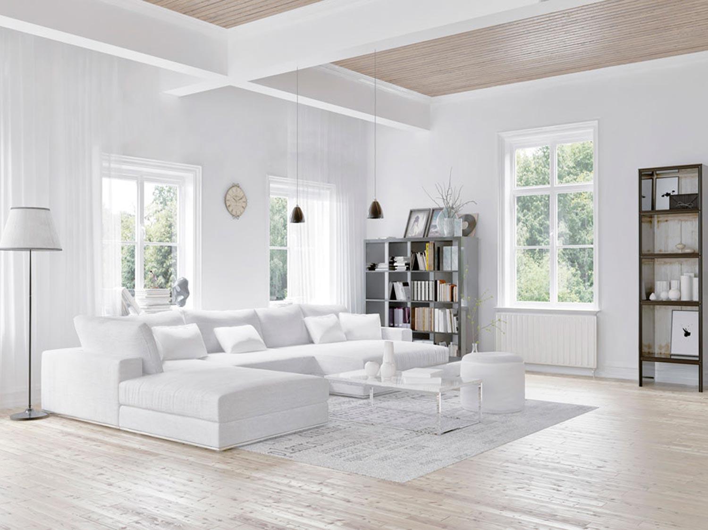 Comment Choisir Sa Peinture Blanche D'intérieur ? | Leroy Merlin destiné Parquet Blanc Brillant
