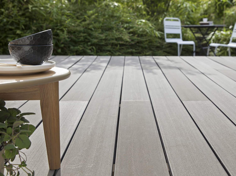 Comment Choisir Sa Terrasse En Bois Composite ?   Leroy Merlin serapportantà Plot Terrasse Dalle Leroy Merlin