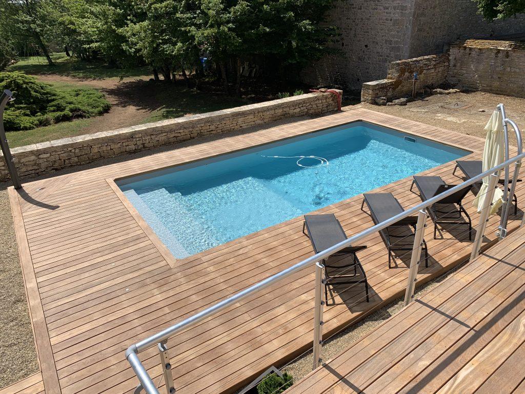 Concept Bois Design Réalise Une Terrasse En Bois Pour Votre ... intérieur Piscine Concept Bois