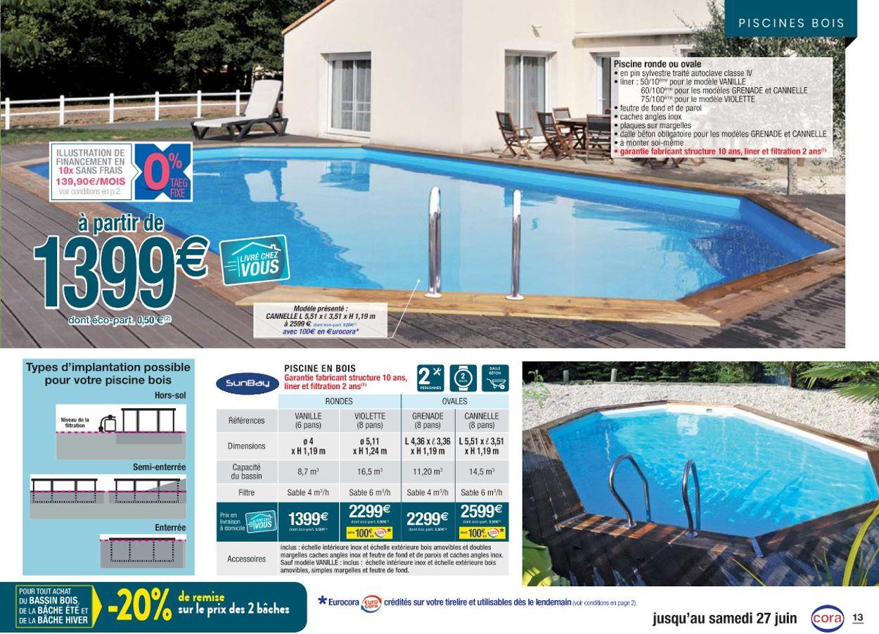 Cora Catalogue Actuel 14.04 - 27.06.2020 [13] - Catalogue-24 avec Piscine Hors Sol Cora