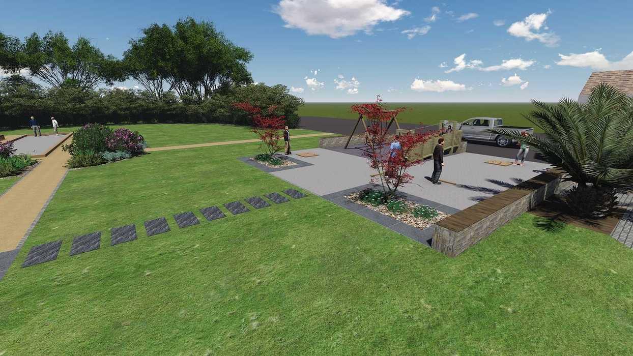 Création De Plans De Jardin 3D - Piscine, Spa, Aménagement ... dedans Plan De Jardin 3D